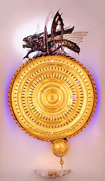 The Chronophage: the monster that devours time.