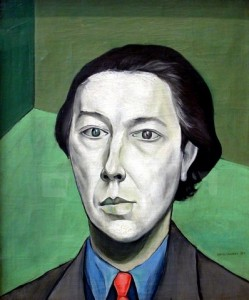 André Breton, by Victor Brauner