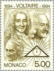 Voltaire-stamp