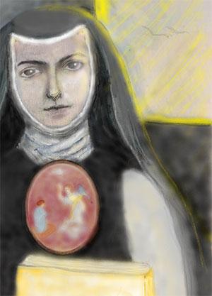 portrait of Juana Ines